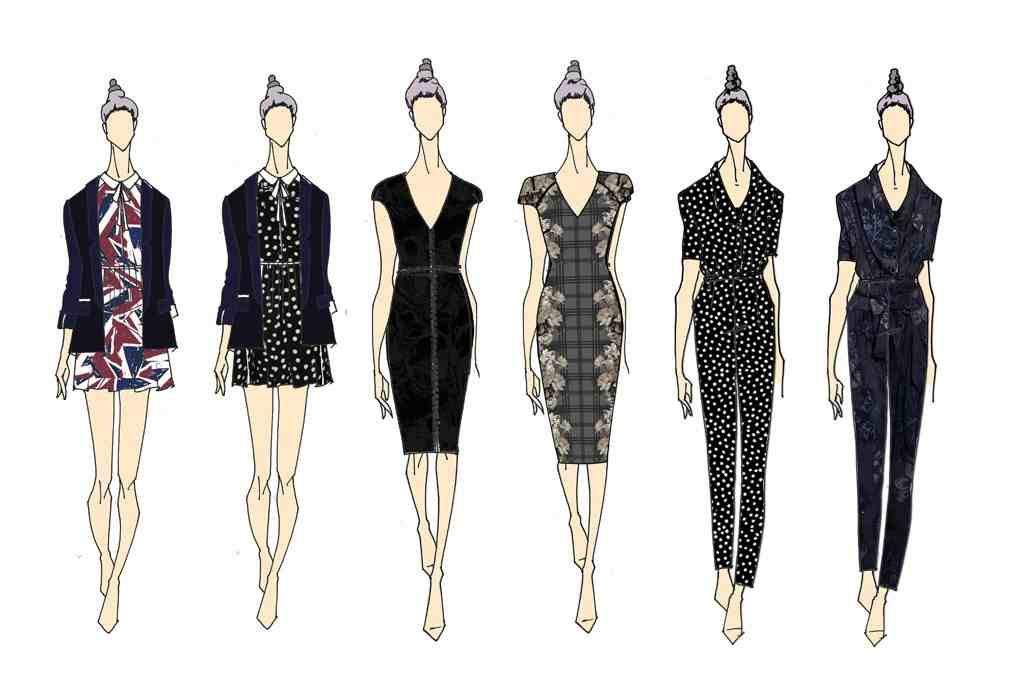 Line Art Fashion Design : Kelly osbourne lanza linea de ropa stories by ko bossa