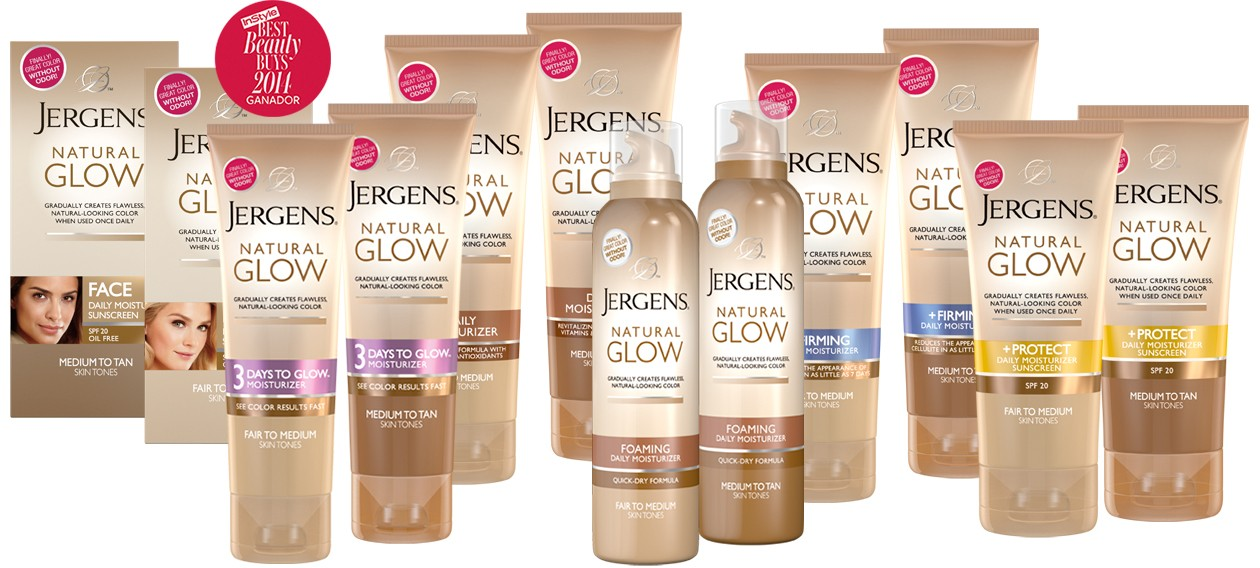 Jergens Natural Glow Face Daily Moisturizer Sunscreen Spf  Walmart