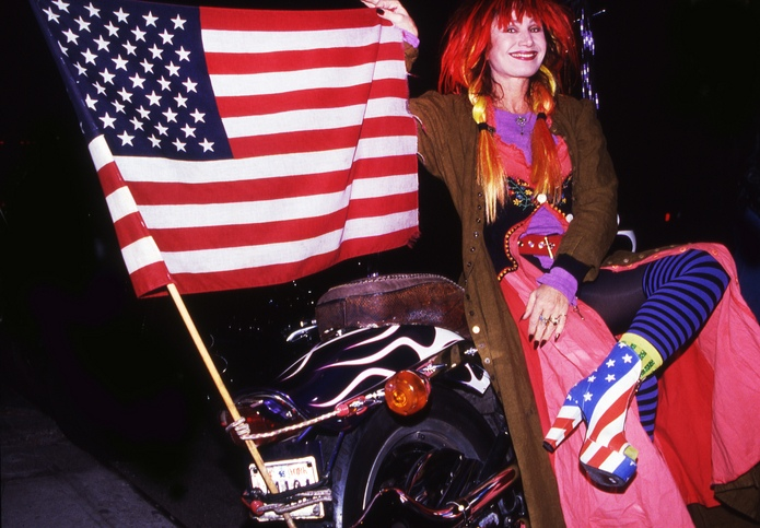 Betsey Johnson's Flag