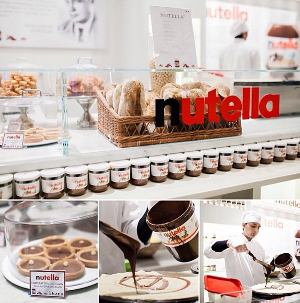 Nutella Bar NYC