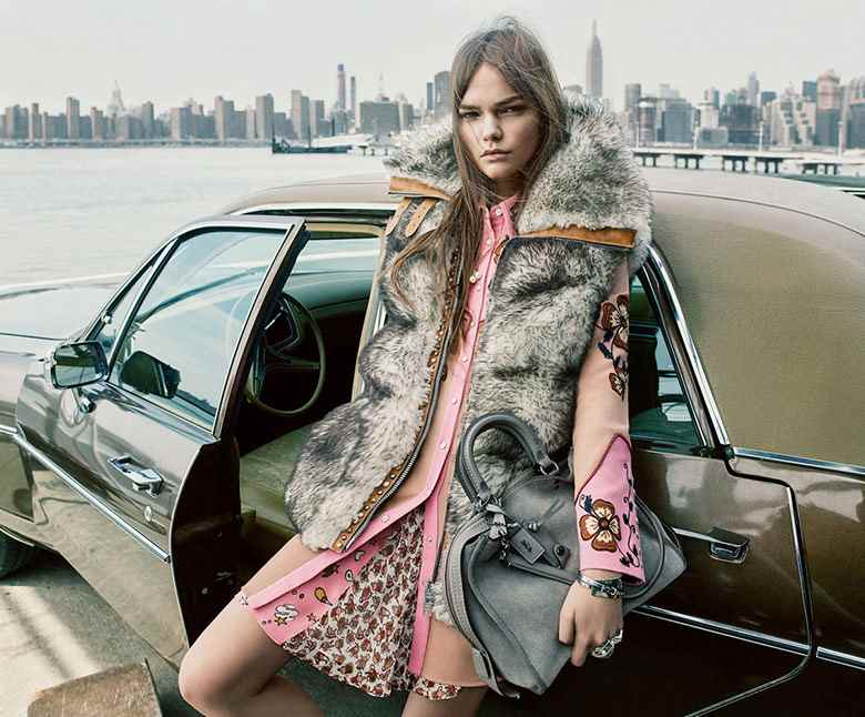 Photo Coach FW 16-17 Campaign by Steven Meisel