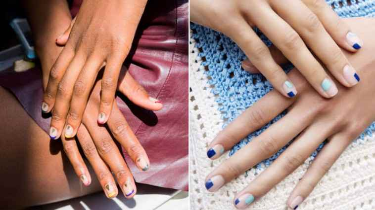 Multicolor-Nail-Art-Trend-NYFW-Spring-Summer-2017